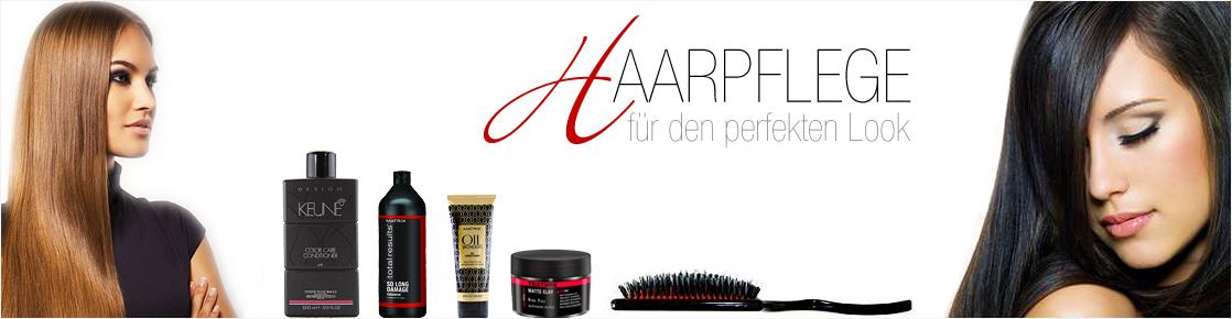 Banner für Haarpflege Produkte