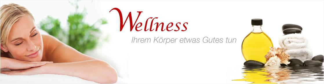 Banner für Wellness Produkte
