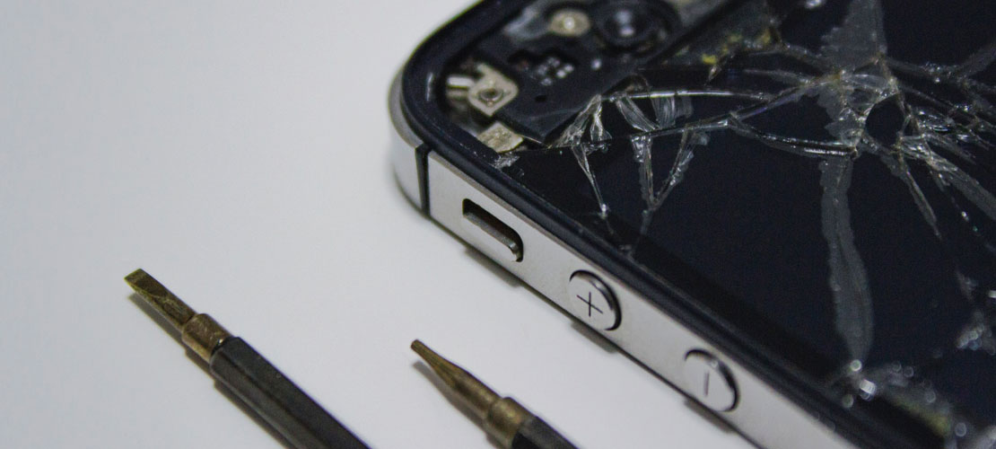 Smartphone Display-Reparatur