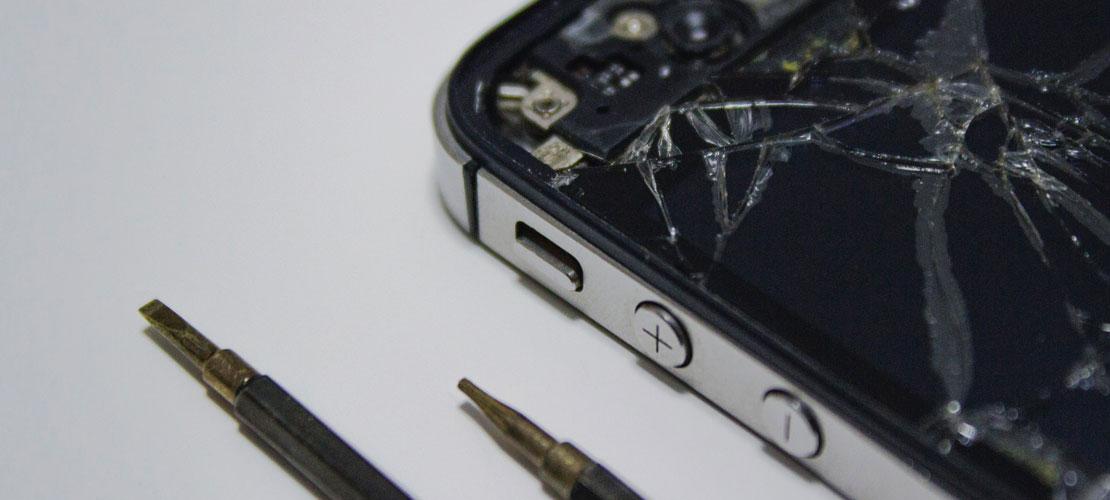 Smartphone Display-Reparatur