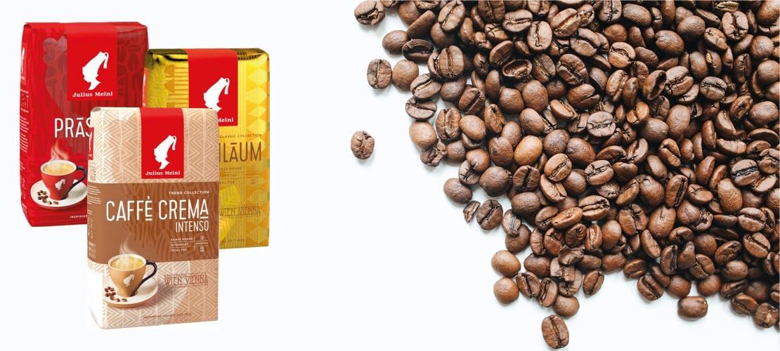 Premium Kaffee von Julius Meinl