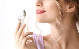 Kleine Grafik zum Thema Parfum mit einem Vaporisateur