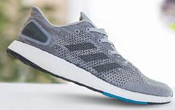 Kleine Grafik zum Thema Herrenschuhe mit einem grauen Sportschuh von Adidas