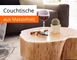 Kleine Grafik zum Thema Wohnzimmermöbel mit einem Couchtisch aus hellem Massivholz auf dem eine Zigarre, ein Kaktus und ein Weinglas steht