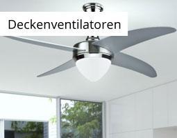 Kleine Grafik zum Thema Sommer mit einem silbernen Ventilator an der Decke hängend