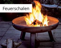 Kleine Grafik zum Thema Wintergrillen mit einer Feuerschale mit großer Flamme