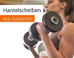 Kleine Grafik zum Thema Fitness mit einer jungen, muskulösen Frau, die zwei Kurzhanteln hochhebt