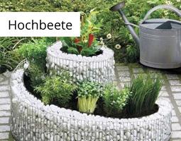 Kleine Grafik zum Thema Garten mit einer Kräuterspirale als Hochbeet im Garten