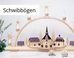 Kleine Grafik zum Thema Weihnachtsdeko mit einem Lichterbogen aus Holz