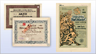 Produkte aus der Kategorie Historische Wertpapiere ansehen