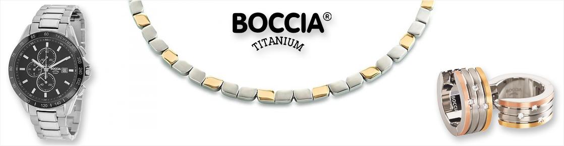 Armbanduhr, Kette und Ringe von Boccia