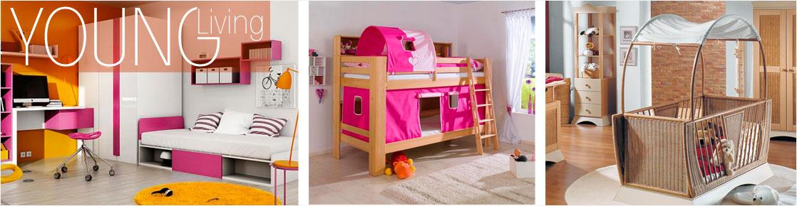 Kinderzimmer und Jugendzimmer