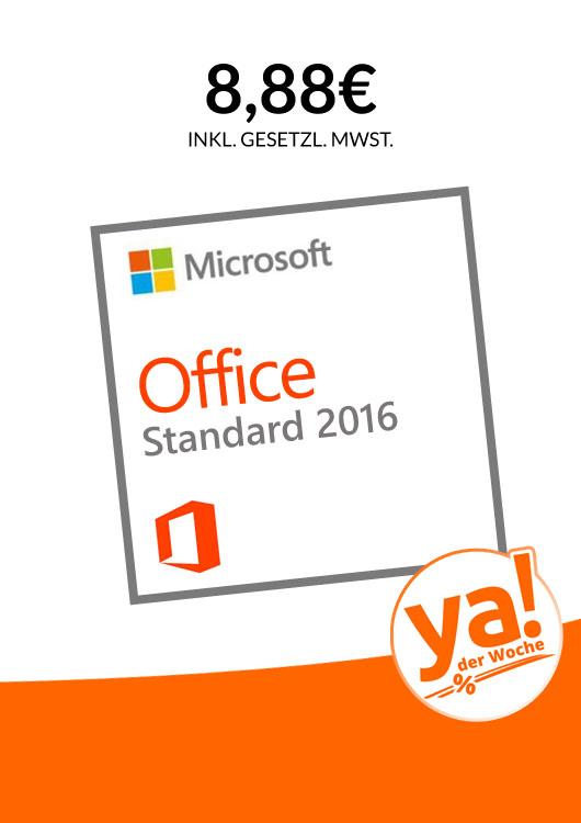 Vibes-Kachel zum Thema Deal der Woche mit Microsoft Office 2016 Standard