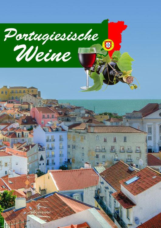 Vibes-Kachel mit einer portugiesischen Stadt am Meer