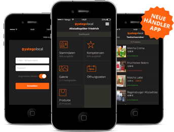 Yatego Local Merchant App